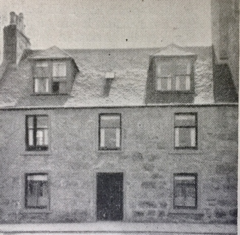 Haudagain Inn, Great Northern Road, Aberdeen. 1826